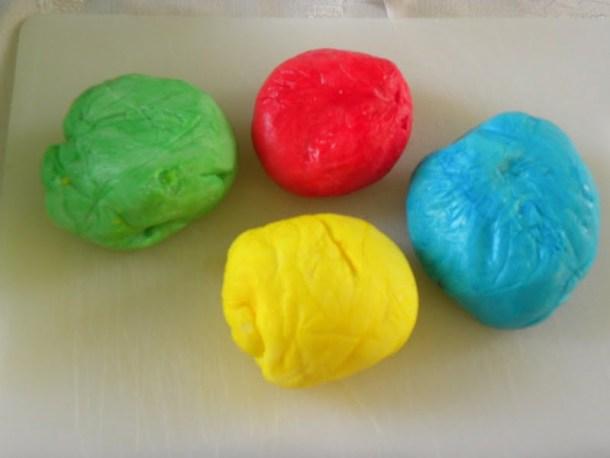 Colourful sugar paste image