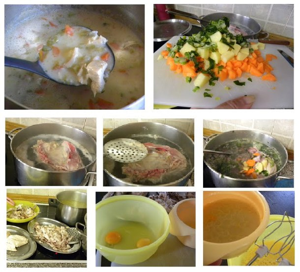 collage chicken soup image