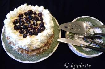 Pasteli cream cheese cake