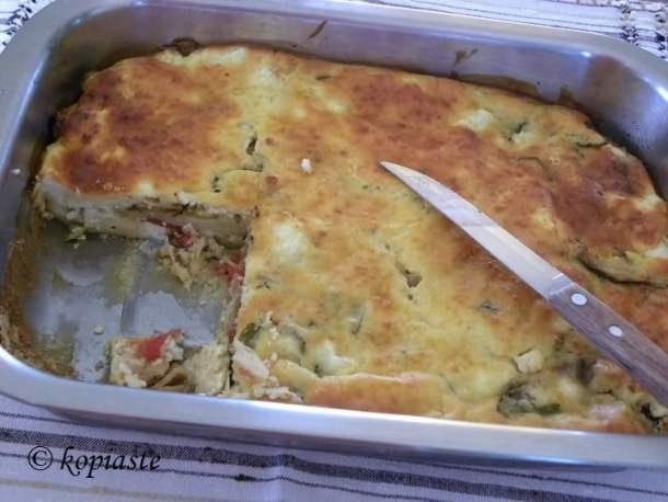 Chaniotiko Boureki with potatoes and zucchi image