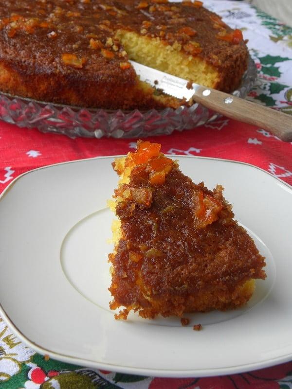mandarin with mandarin glaze