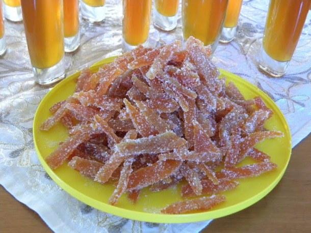 Candied Mandarin Peels