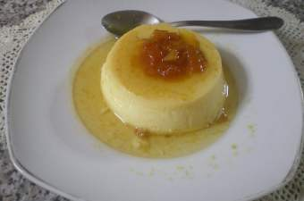 Low Fat Crème Caramel with Video