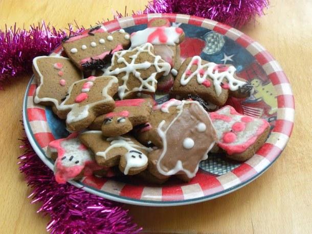 Gingerbread cookies image