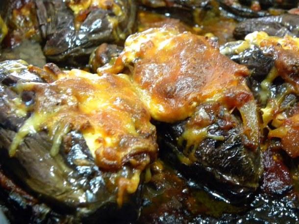 Imam Bayildi stewed eggplants image