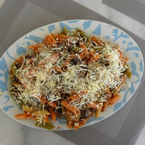 Penne with Leftover Imam