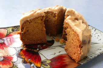 Apple and Carrot Cake Cut image