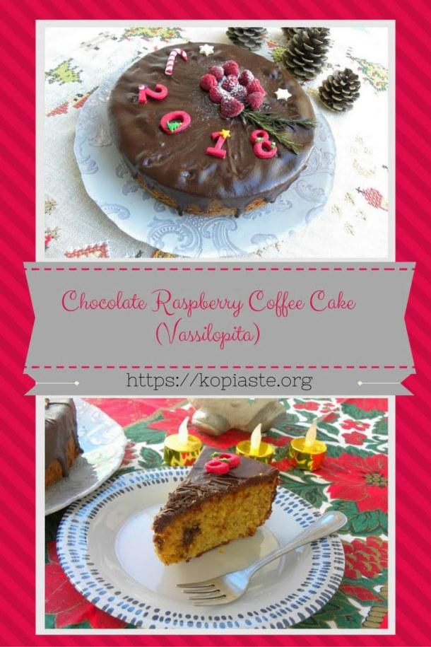 Collage Almond raspberry coffee cake image