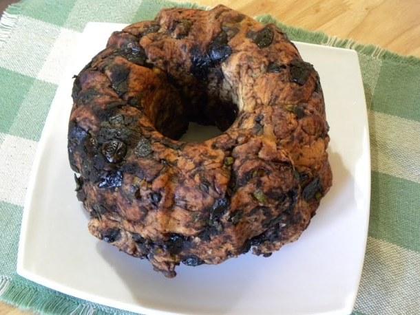 Eliopita with black olives image
