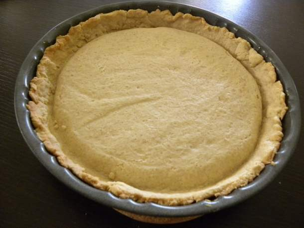 Baked tart crust image
