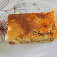 Makaronia tou Fournou or Pastitsio (Cyprus style)