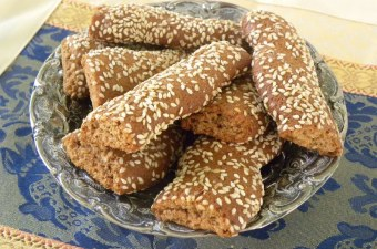 Moustokouloura with sesame seeds image
