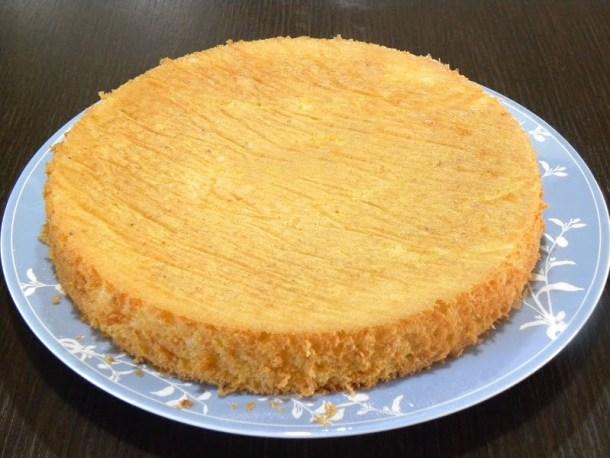 Basic 2 Genoise sponge cake image