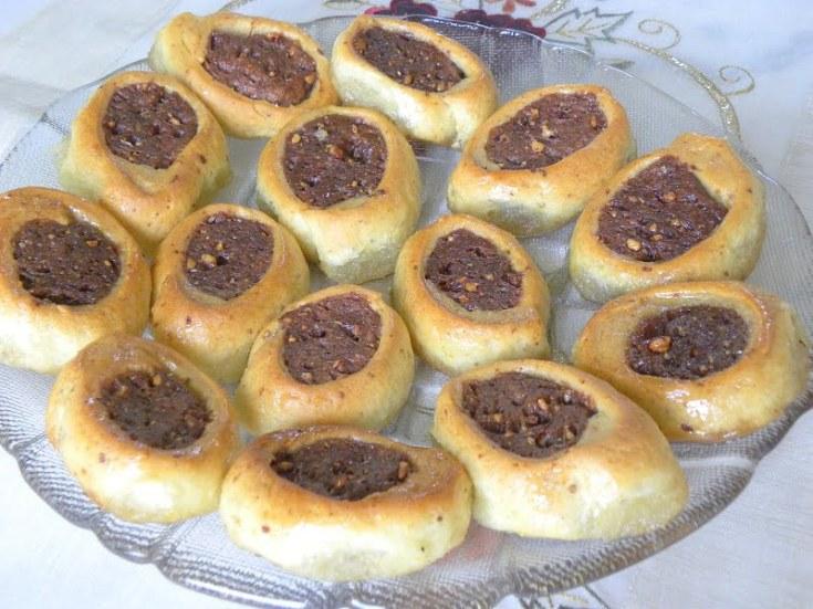 Nistisima Roxakia Portokaliou (Vegan Orange dough cookies)