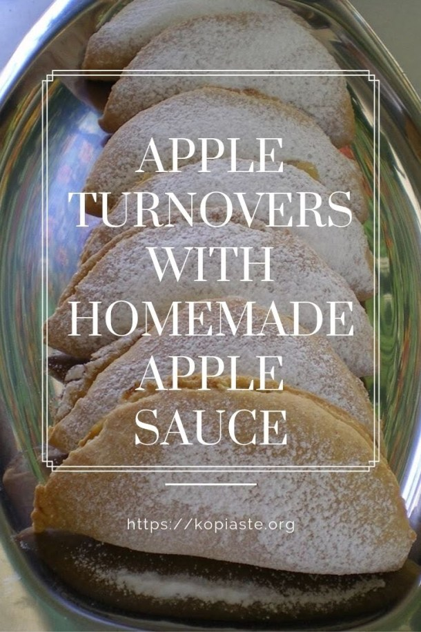 Collage-Apple-turnovers-with-apple-sauce-image