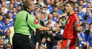 Graham Poll Steven Gerrard