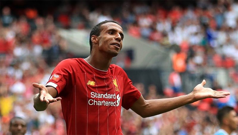 Liverpool's Matip could miss 'up to six weeks'