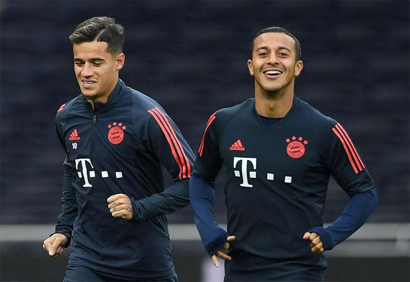 Thiago agrees terms with Liverpool