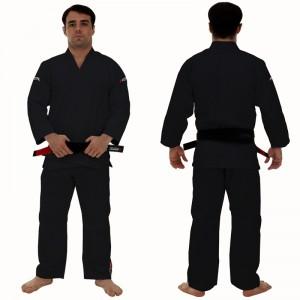 コラルオリジナル柔術衣黒