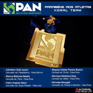 PAN Gold medalists