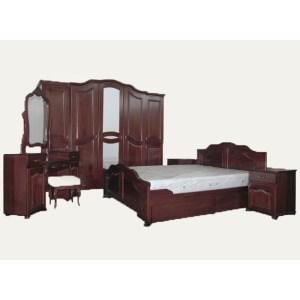 spavaca soba, drvena
