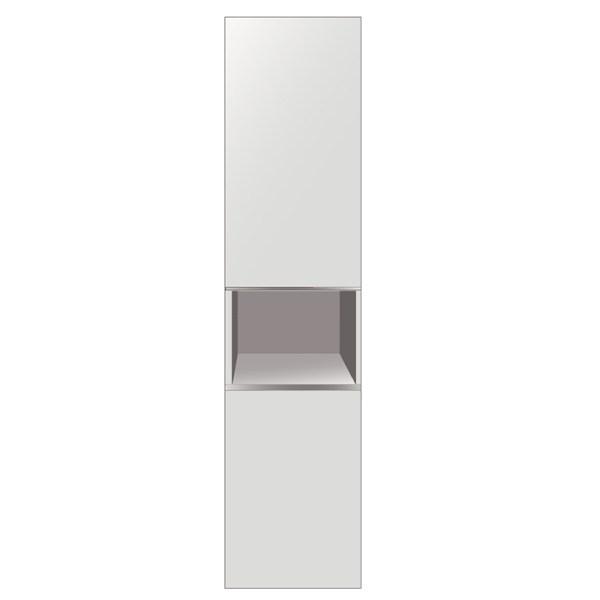 Ormaric za kupatila vertikala Nora bela