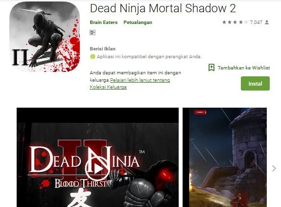 Dead Ninja Mortal Shadow 2