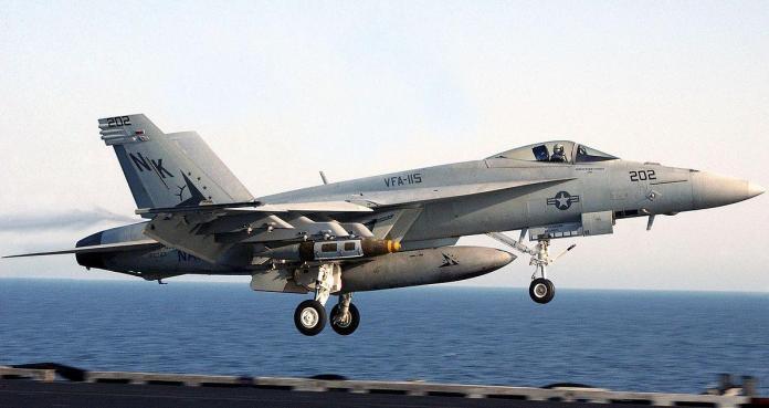 McDonnell - Douglas F/A - 18E Super Hornet