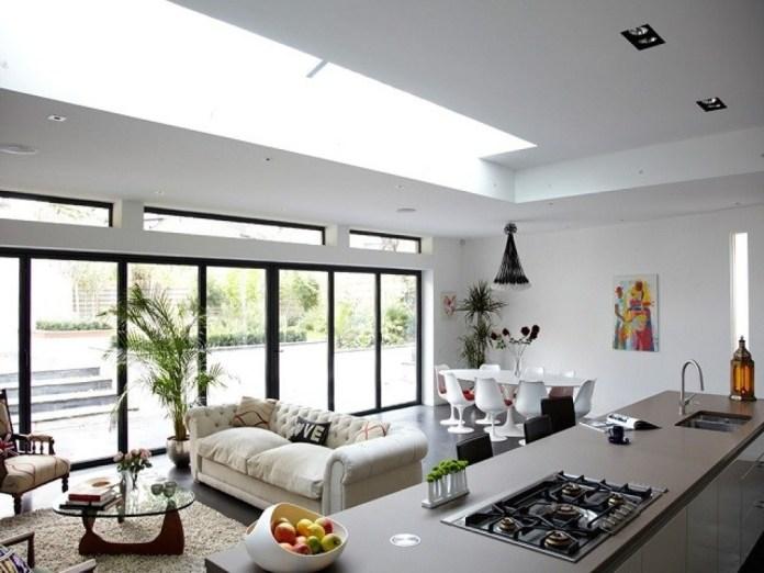 Rumah minimalis modern dengan open space