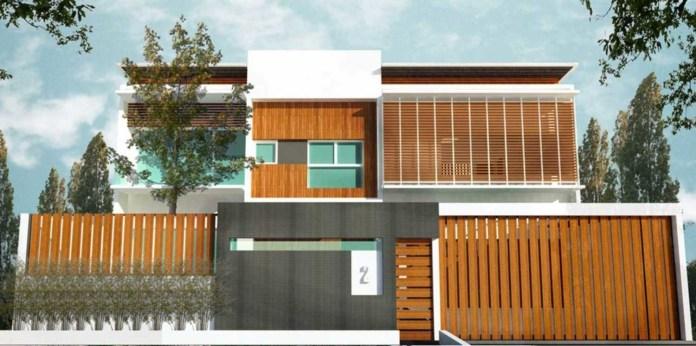 Desain Rumah Minimalis Jepang dengan Nuansa Tropis