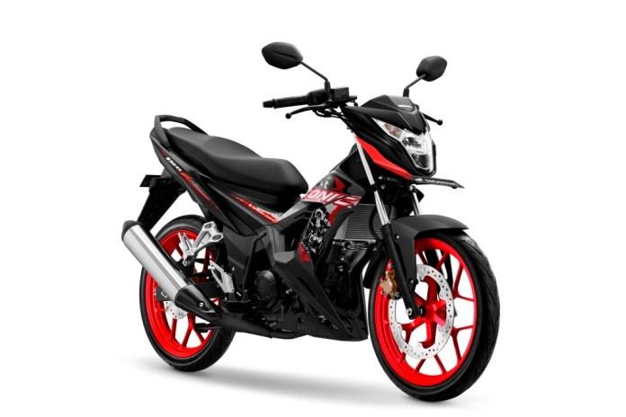 Spesifikasi Honda Sonic 150R 2020