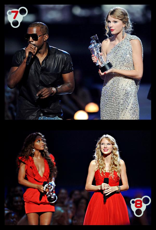 Taylor Swift / Kanye West / Beyoncé