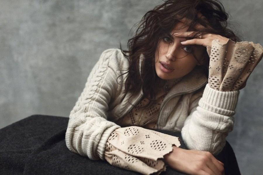 Irina Shayk for Harper's Bazaar Espana December 2015