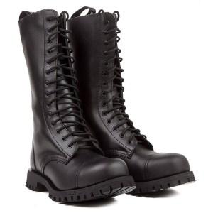 Boots Cuir Noires