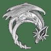 pendentif dragon