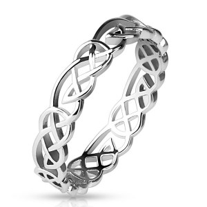 anneau tribal en laiton