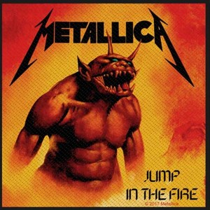patch metallica jump in the fire