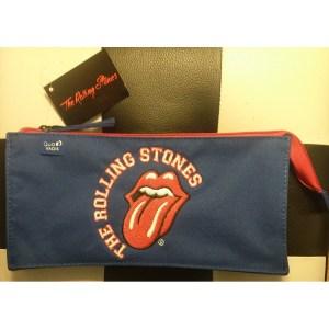 Trousse Rolling Stones Bleue