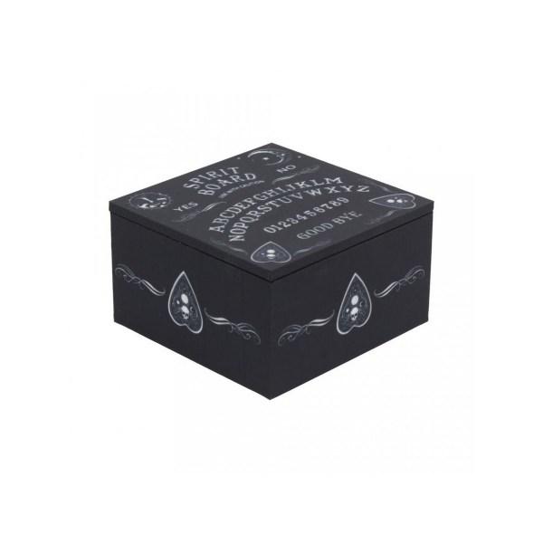 boîte à bijoux ouija board noire