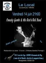 CONCERT FRANCKY GUMBO & HIS ROCK'N'ROLL BAND