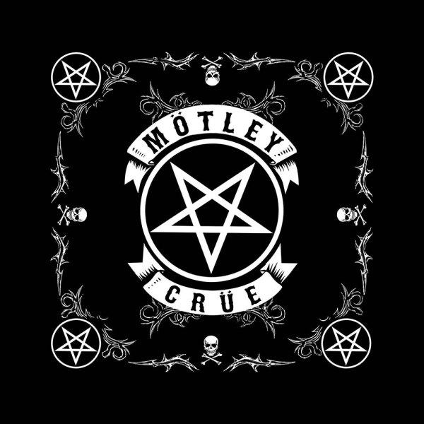 Bandana Mötley Crüe Pentagramme