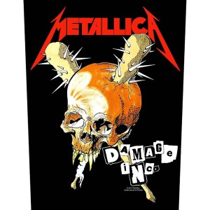 Dossard Metallica Design Damage Inc.