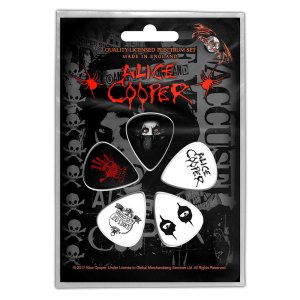 Médiators Alice Cooper Design Eyes Licence Officielle