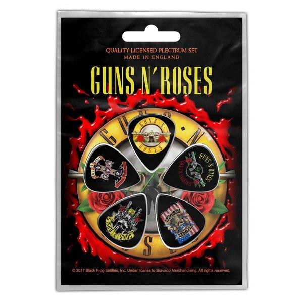 Médiators GunsNRoses Design Bullet Logo