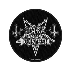 Patch Dark Funeral Logo Licence Officielle