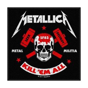 Patch Metallica Design Metal Militia