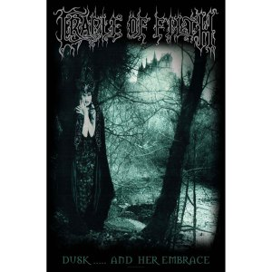 Drapeau Cradle Of Filth Dusk and Her Embrace