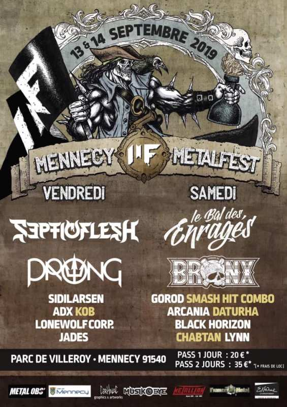 MENNECY METAL FEST 8