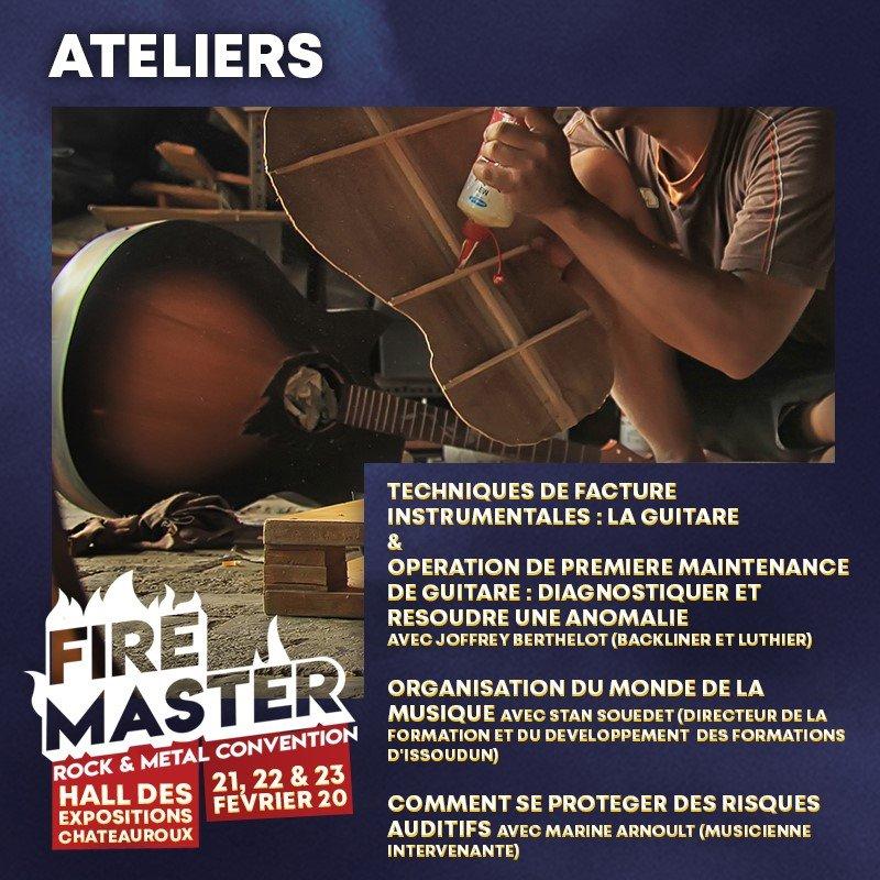 Ateliers du FireMaster 2020