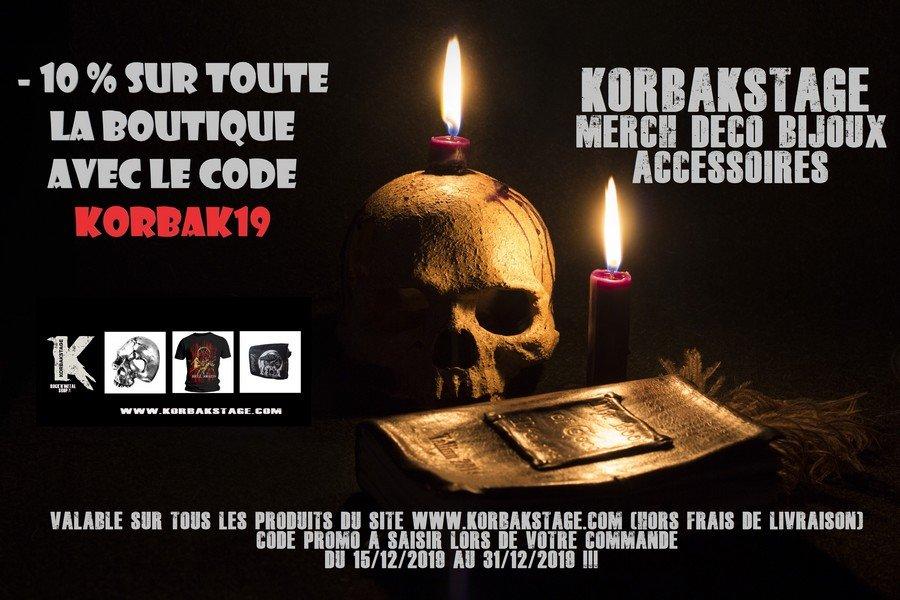 KORBAK19 Promo Noël KorbaKStage